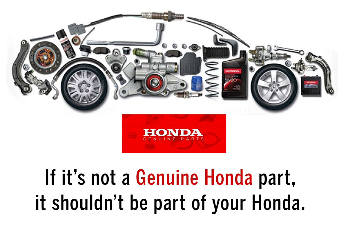 Come to London Honda for Genuine Honda Parts and Accessories and be  guaranteed of benefiting from an exclusive marriage of quality products and  friendly and ...